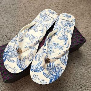Tory Burch Thin Strap Flip-Flops